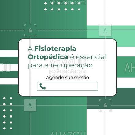 Um aliado para a recuperação de traumas e fraturas? Fisioterapia Ortopédica! Agende seu horário: ?(preencher) #AhazouSaude  #fisioterapeuta #qualidadedevida #fisio #fisioterapiaortopédica