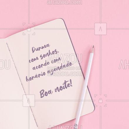 Nós podemos te ajudar a realizar os seus sonhos!  ? #boanoite #beleza #AhazouBeauty  #estetica #beauty