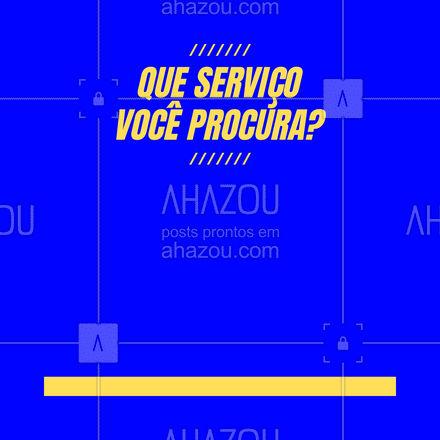 Aqui temos os mais variados e melhores serviços da região, para a sua casa! Entre com contato ? (inserir número)! #serviços #casa#serviçosparacasa #AhazouServiços #conserto#limprza #reforma #reparos #atendimento #AhazouServiços #AhazouServiços