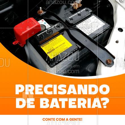 ATENÇÃO, reposição de peças novas no estoque. Seu veículo está precisando de uma bateria nova? Conte com a gente. ? #AhazouAuto  #eletricadecarros #eletricaautomotiva #carros #servicoautomotivo #instalacao