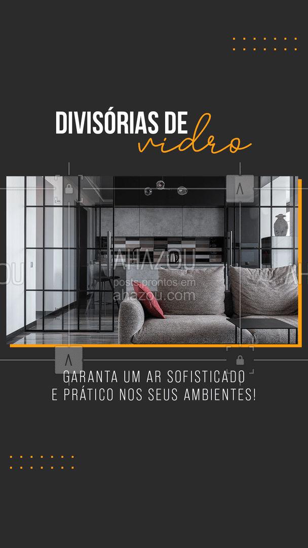 Entre em contato e solicite agora mesmo o seu orçamento! ?  #divisoriadevidro #vidro #vidraceiro #vidracaria #AhazouVidraçaria #serviços #serviçospracasa