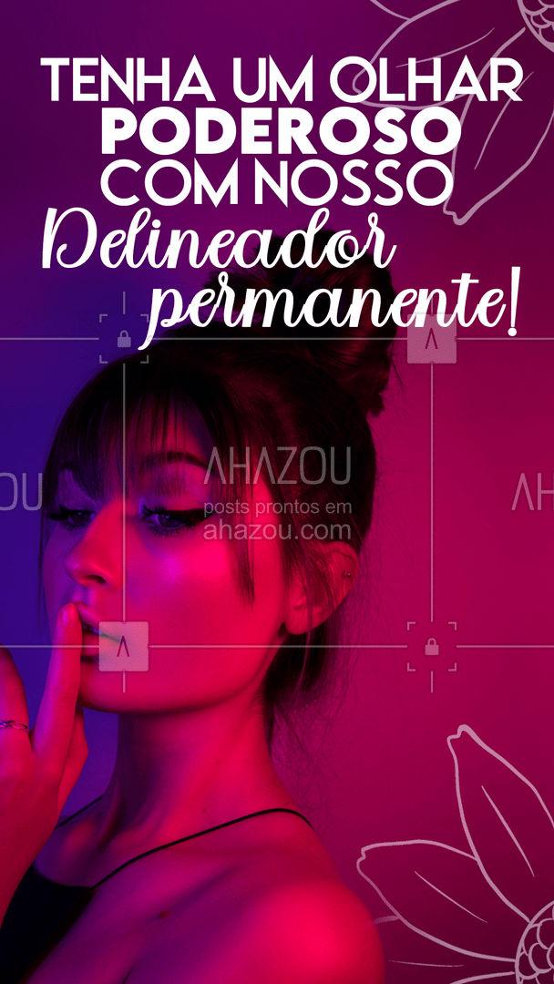 Nossa técnica é perfeita para quem quer acordar maravilhosa, entre em contato para saber mais! #beleza #AhazouBeauty#maquiagem #delineador