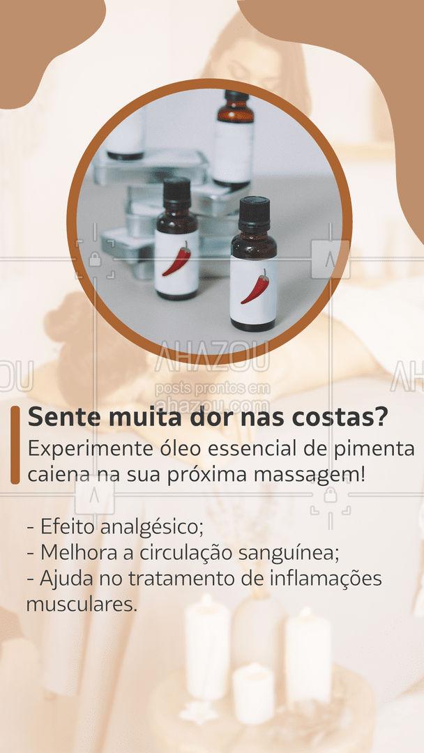 Teste o poder dos óleos essenciais! #AhazouSaude #quickmassage #massoterapia #relax #massoterapeuta #massagem #massagemrelaxante #relax #oleoessencial