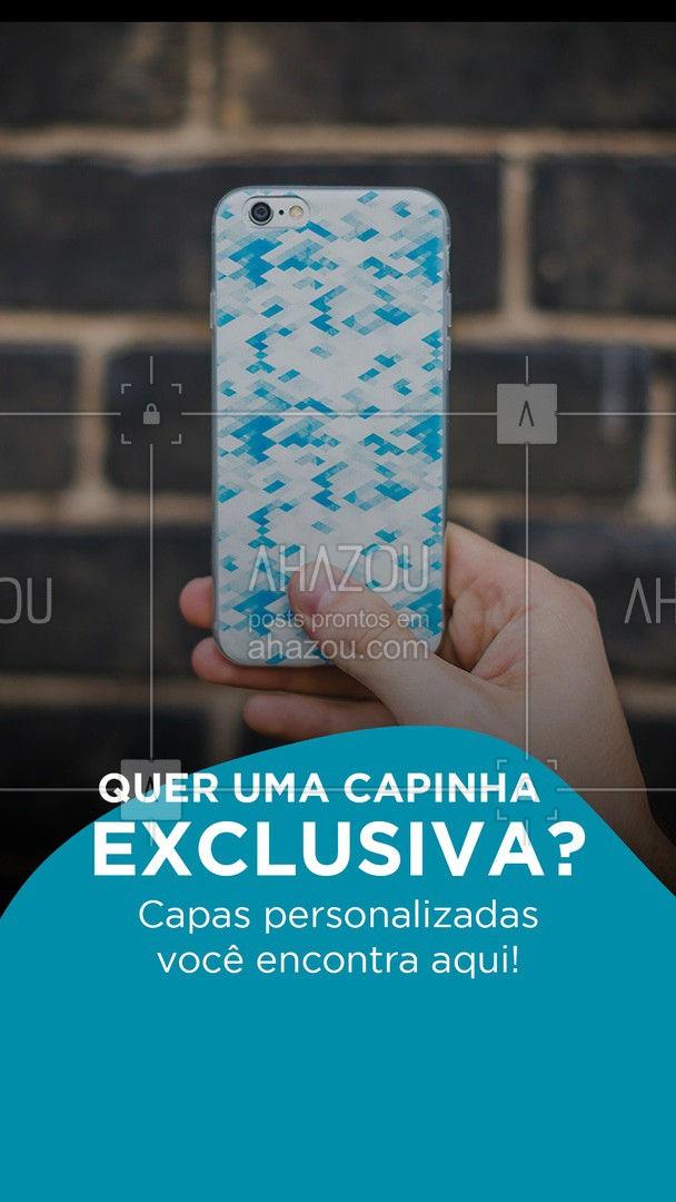 A capinha perfeita pro seu celular, você encontra aqui! ? #celular #capinha #personalizados #ahazoutec #personalizado #celulares