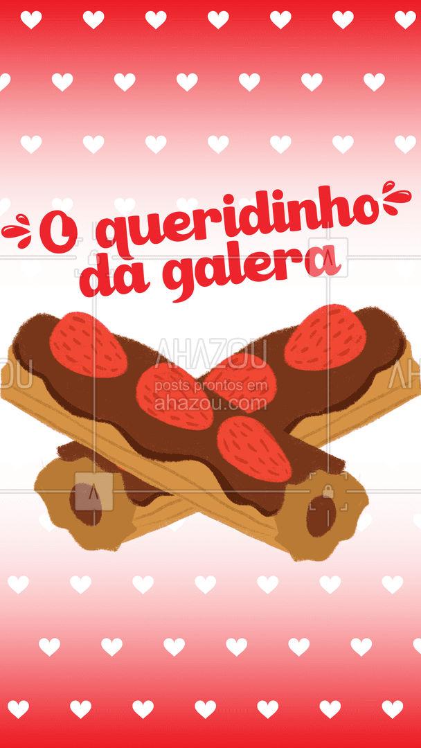 O clássico churros recheado, pertinho de você!  #churros #minichurros #doce #ahazoutaste #confeitaria #foodlovers