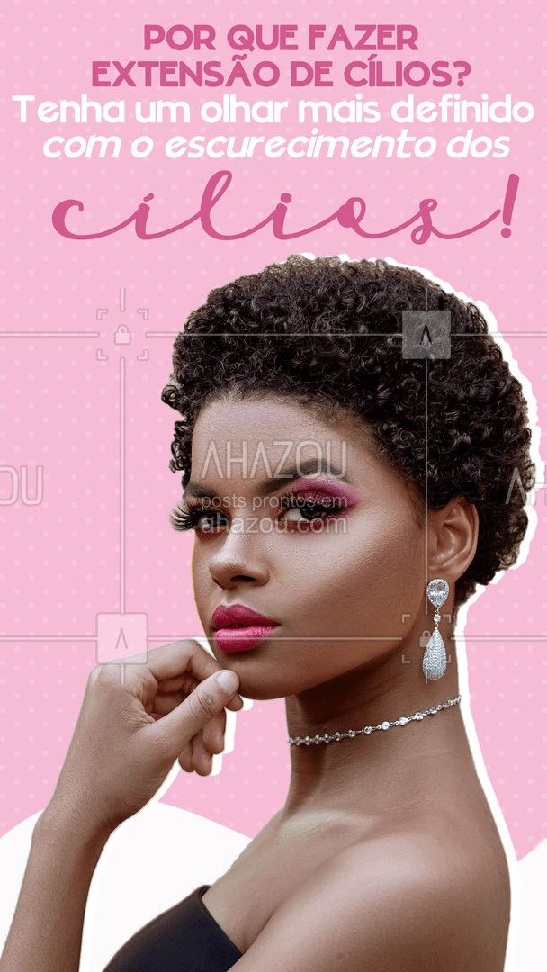 Restaure a sua autoestima com cílios cheios e bem marcados! 🥰 #extensaodecilios #cilios #AhazouBeauty  #lovelashes  #beleza  #beauty  #lashes
