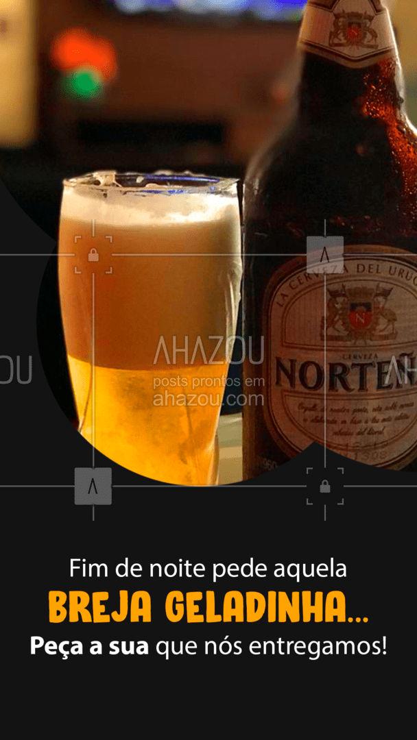 A sua breja geladinha tá esperando você, é só pedir! ?  #Cerveja #BarDelivery #ahazoutaste  #bar #lounge #drinks