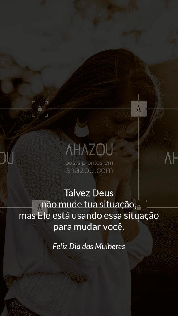 Não foque nos momentos ruins, não tente mudar sua situação. Acredite no poder Dele. ❤ #AhazouFé #deus #gospel #igreja #biblia #jesuscristo #cristo #brasil #palavradedeus
