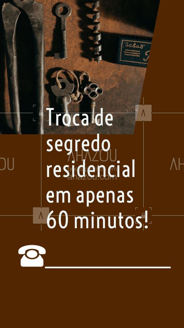 Serviços disponíveis 24 horas por dia.  #AhazouServiços  #chave #chaveiro