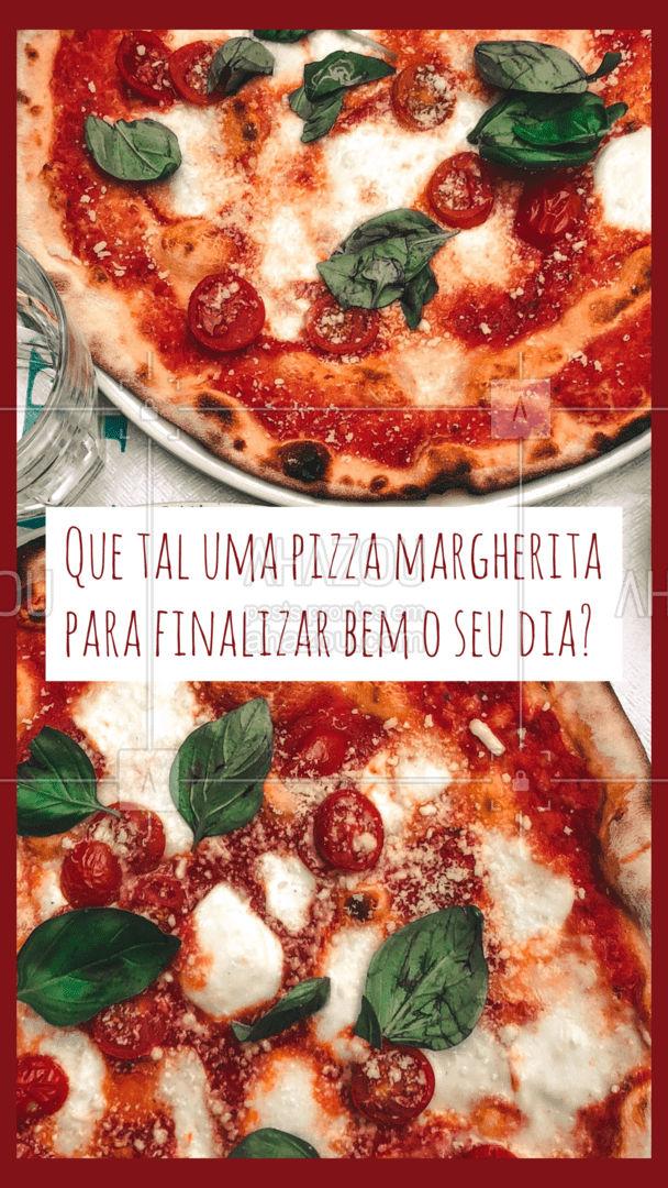 Nada melhor que uma pizza de margherita para fechar o seu dia com chave de ouro não é mesmo? Então não perca tempo e peça já a sua! #pizzaria #pizza #ahazoutaste #pizzalife #pizzalovers #sabores #opçoes