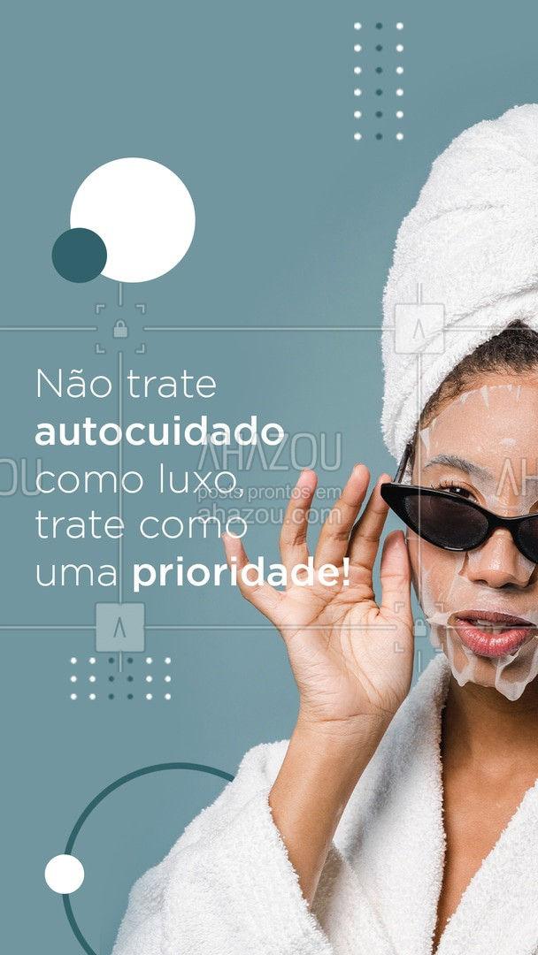 Autocuidado não é luxo, é uma necessidade, uma prioridade. Nada melhor que uma pele linda e de arrasar. ?✨ #AhazouBeauty #bemestar #esteticafacial #limpezadepele #peeling #saúde #skincare