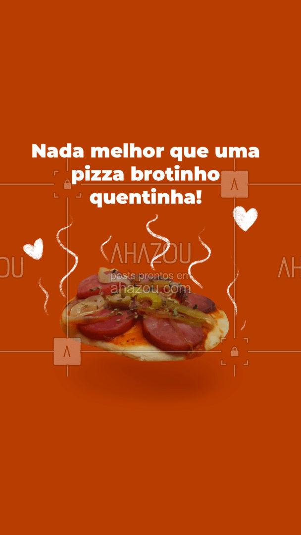Venha provar as opções de brotinho! Você não faz se arrepender! #ahazoutaste #pizza #pizzaria #pizzalife