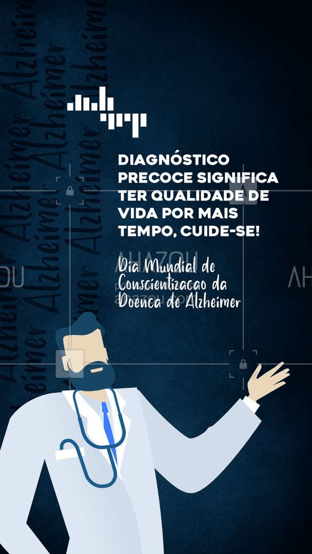 Dia Mundial de Conscientização da Doença de Alzheimer: Quem se conscientiza e se cuida vive melhor! #ahazou #frasesmotivacionais  #motivacionais  #quote  #motivacional  #alzheimer #doençadealzheimer #memória #lembranças #diamundialdeconscientizaçãodadoençadealzheimer
