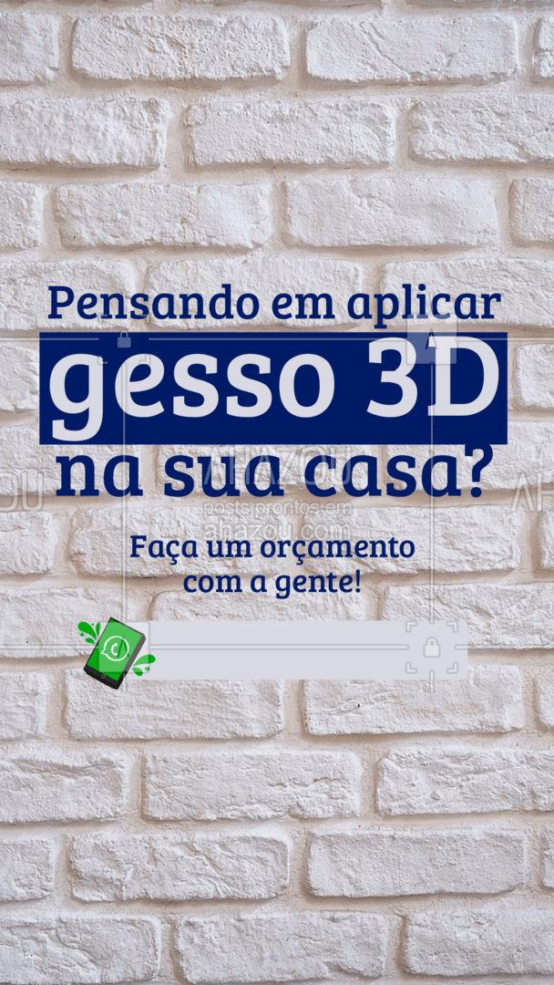 Aqui você garante um trabalho excelente com preço justo! ?  #gesso3d #gesso #placadegesso #AhazouServiços #serviços #pedreiro