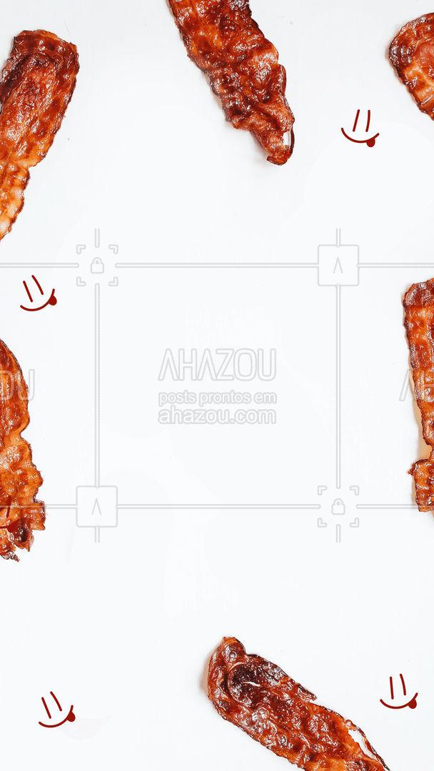 Qual o seu pedido que vai com muito bacon?!🤤🤤 #ahazoutaste #diadobacon #promocao #frase #oferta  #pizzaria  #pizza  #pizzalovers #bacon&pizza