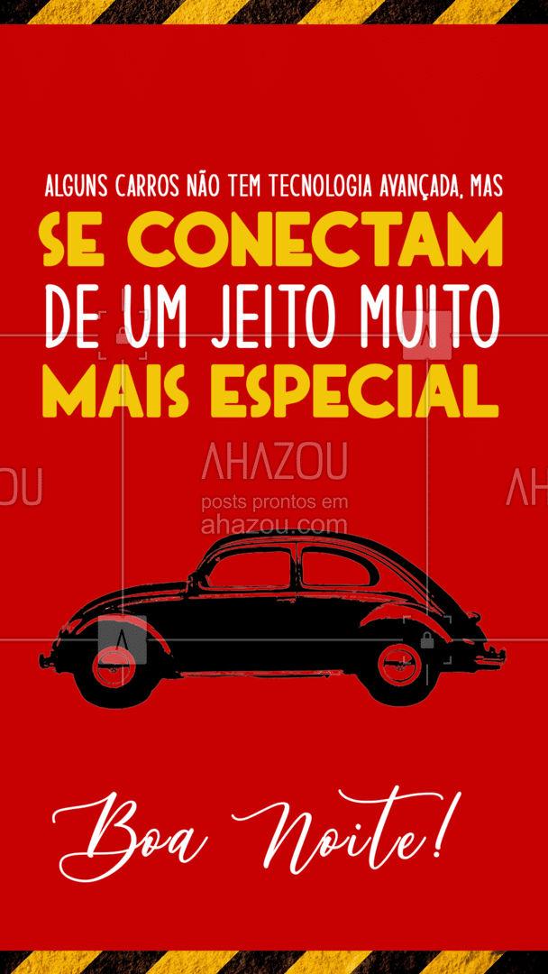 Boa noite, você já reparou que alguns carros não possuem bluetooth ou qualquer outra tecnologia de ponta, mas mesmo assim conseguem se conectar a nós? Seja através do sentimento, historia e/ou tempo investido, tudo isso acaba gerando uma conexão! ? #AhazouAuto #esteticaautomotiva #servicoautomotivo #carros #mecanica #automobilistico #AhazouAuto