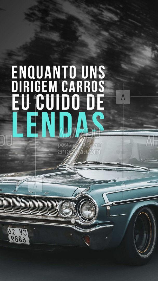 Um dia seu carro novo será velho e eu continuarei sendo um clássico. ?❤️ #AhazouAuto  #esteticaautomotiva #carros #lavajato #eletricaautomotiva #mecanicaautomotiva #carros
