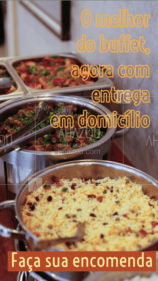 Encomende suas opções favoritas do nosso cardápio e torne a comemoração em casa mais que memorável. Entre em contato: (inserir contato) #buffet #catering #ahazoutaste #delivery #eventos #buffetadomicilio #ahazoutaste