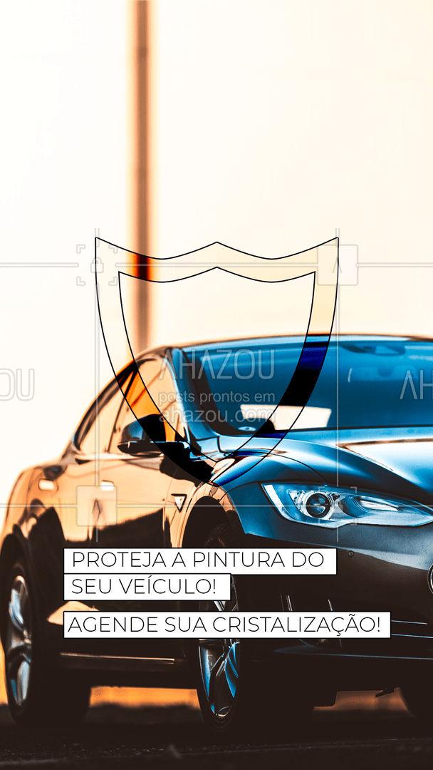 A pintura do seu veiculo vai ficar linda e brilhante além de protegida! Entre em contato e agende seu horário? (inserir número)! #esteticaautomotiva #esteticaelavajato #servicoautomotivo #carros #AhazouAuto #lavajato #carro #automotiva #cristalizaçaodepintura