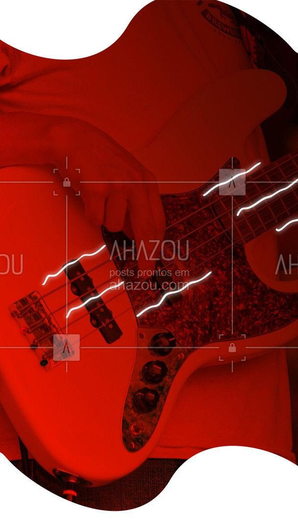 Todo mundo pode aprender a tocar um instrumento novo, inclusive você! Venha fazer nossa aula de baixo, entre em contato e agende o seu horário. #professordemusica #música #AhazouEdu #aulademusica #baixo #auladebaixo #instrumento #tocarbaixo #instrumento