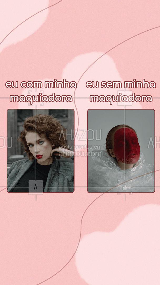 Quem se identifica, deixa um like ❤? #maquagem #maquiadora #AhazouBeauty #BBB #bigbrotherbrasil21