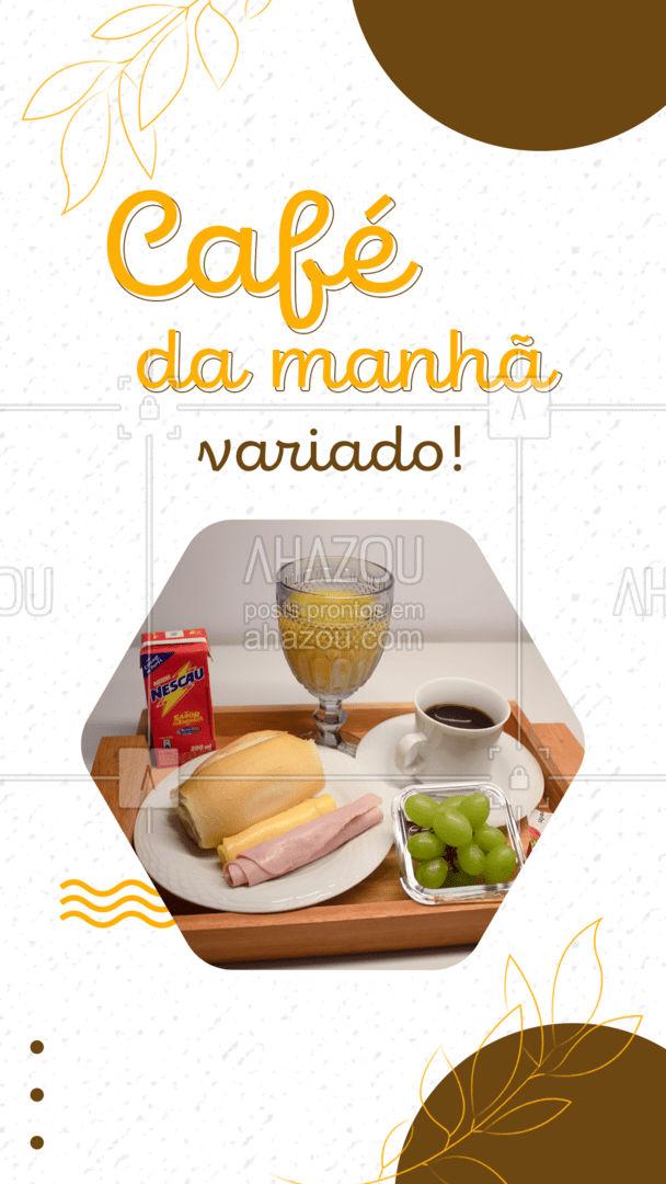 Venha tomar seu café da manhã com a gente! Temos opções que agradam a todos os gostos! Pão quentinho e frutas fresquinhas você só encontra aqui! #ahazoutaste  #cafedamanha #padariaartesanal #pãoquentinho #padaria #bakery #coffee #café #cafeteria