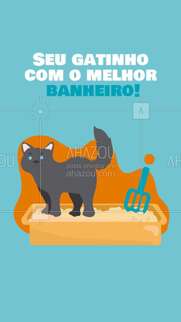 Caixas de areia para seu gatinho. Higiênico e limpinho do jeito que você gosta!#AhazouPet  #instapet #petshoponline #petshop