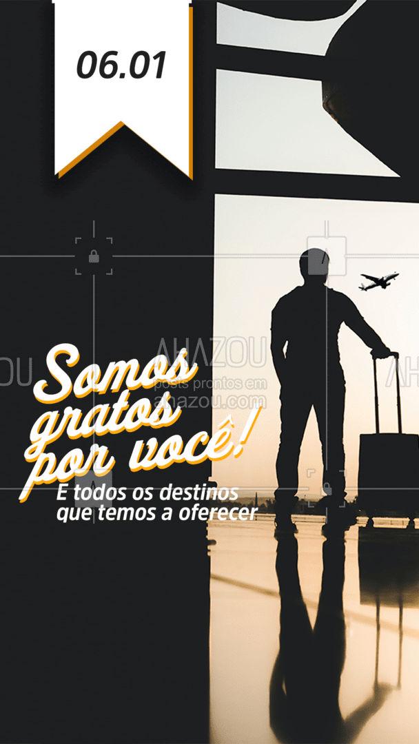 Agradecemos a todos os parceiros, clientes, colaboradores e fornecedores que nos ajudam a tornar o sonho da viagem possível. Obrigado pela confiança! ❤️#AhazouTravel  #viagens #agentedeviagens #viajar #viagem #trip #agenciadeviagens