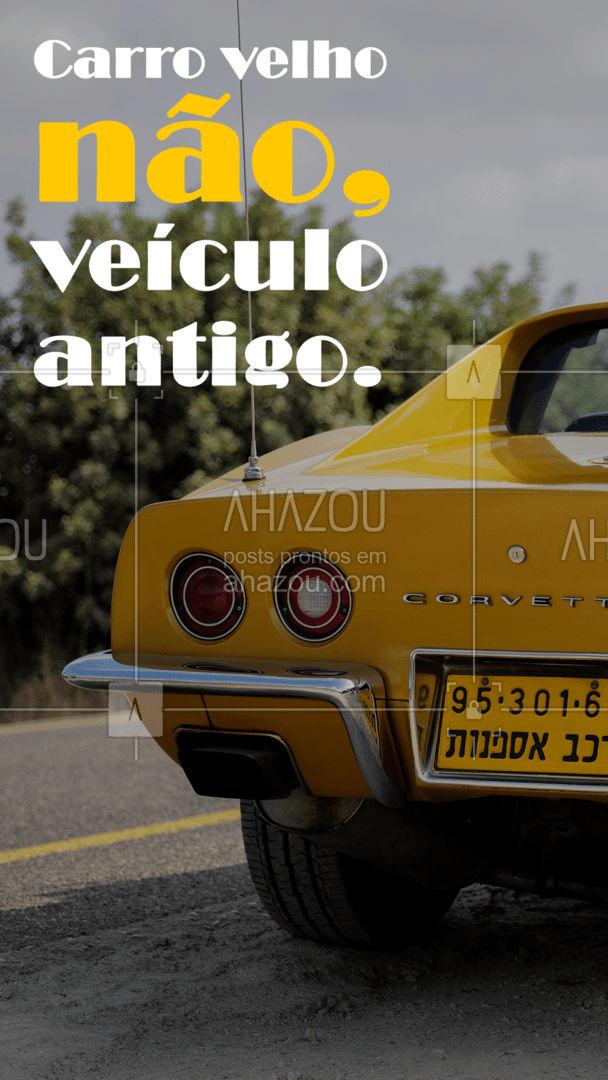 Deveria ser pecado chamar carros antigos de velhos! ?  #carros #carroantigo #AhazouAuto  #automotivos #servicoautomotivo #automobilistico