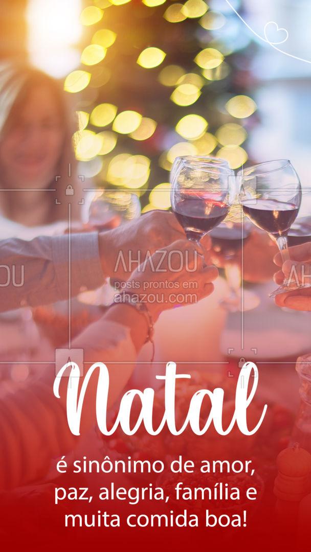 Com a comida boa nós podemos te ajudar! ? ?? #Natal #ComidadeNatal #ahznoel #ahazoutaste #gastronomia #foodlover #culinaria #ahazoutaste #ahazoutaste
