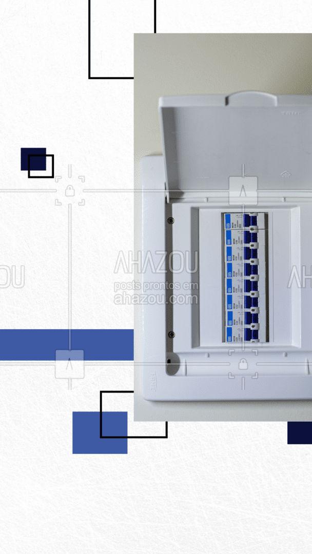 Sua caixa de força está apresentando problemas? Não precisa se preocupar, eu posso te ajudar com isso!  Entre em contato 📞 (inserir número) e agende seu horário! #serviços #eletricista #eletricidade #AhazouServiços #eletrica #serviçosparacasa #manutençao #caixadeforça