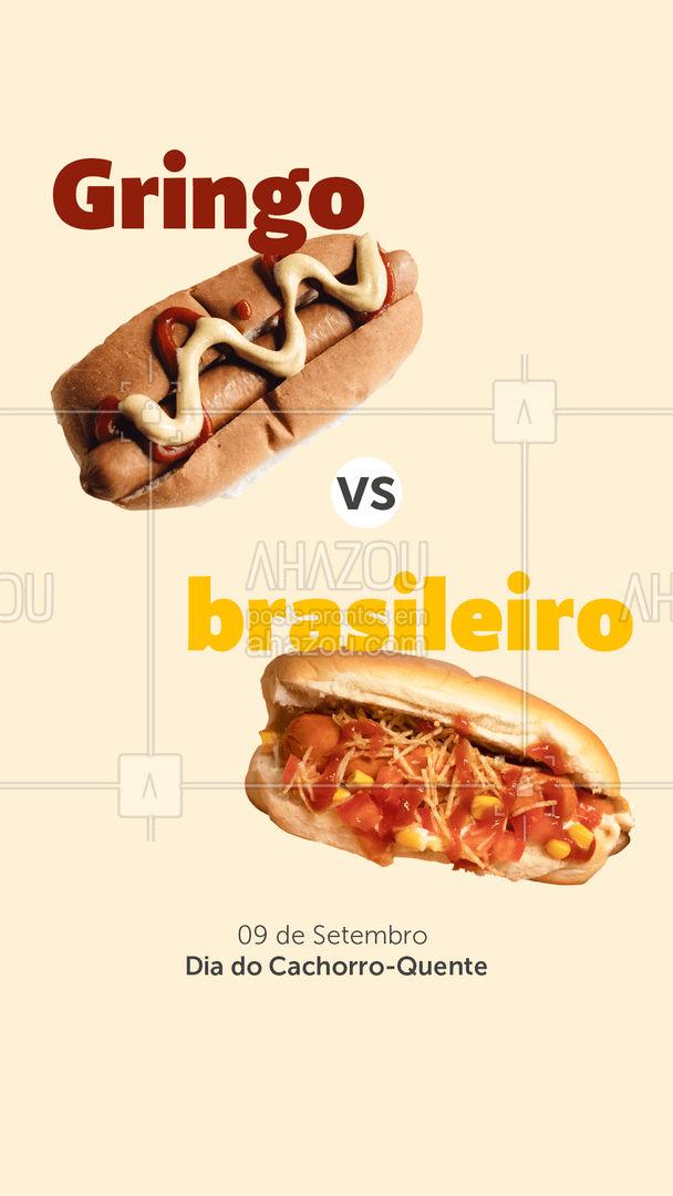 Tudo que brasileiro toca vira ouro! Gosta de um dogão bem recheado? Aproveite o Dia do Cachorro-Quente e peça logo o seu! #ahazoutaste #gastronomy  #gastronomia  #foodie  #foodlover  #culinaria  #instafood #cachorroquente #hotdog