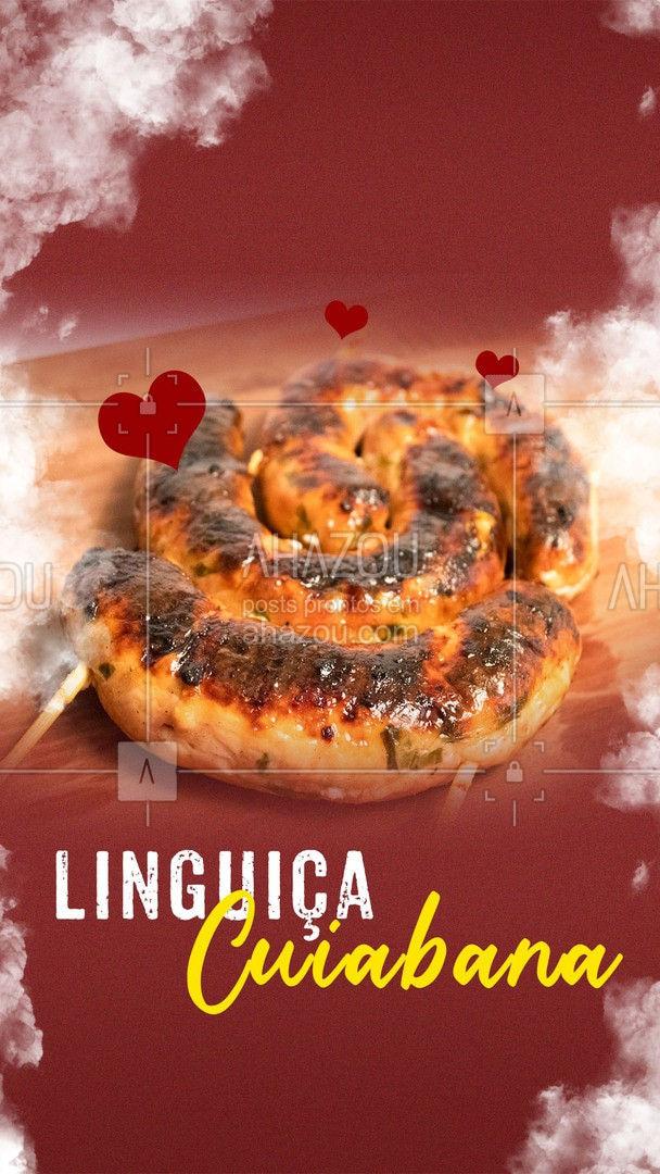 Deixe seu churrasco especial com todo o sabor da linguiça cuiabana. Peça já a sua #açougue #churrasco #ahazoutaste #linguiça #linguiçacuiabana