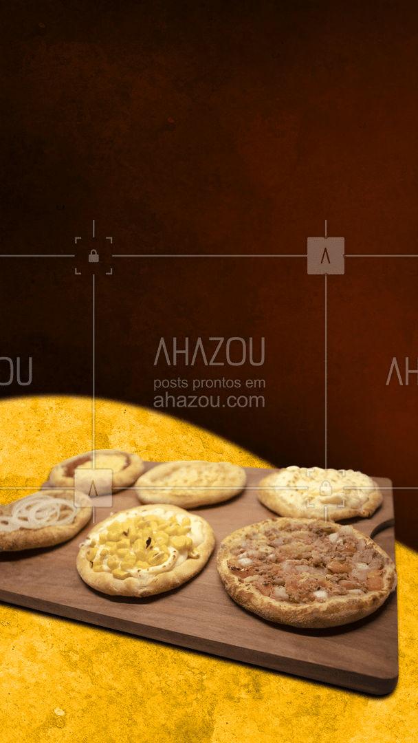 Para o dia ficar melhor ainda, que tal pedir umas esfihas saborosas? ? #ahazoutaste #esfihas #esfihasdeliciosas #esfihasdelivery #pizzaria #delivery