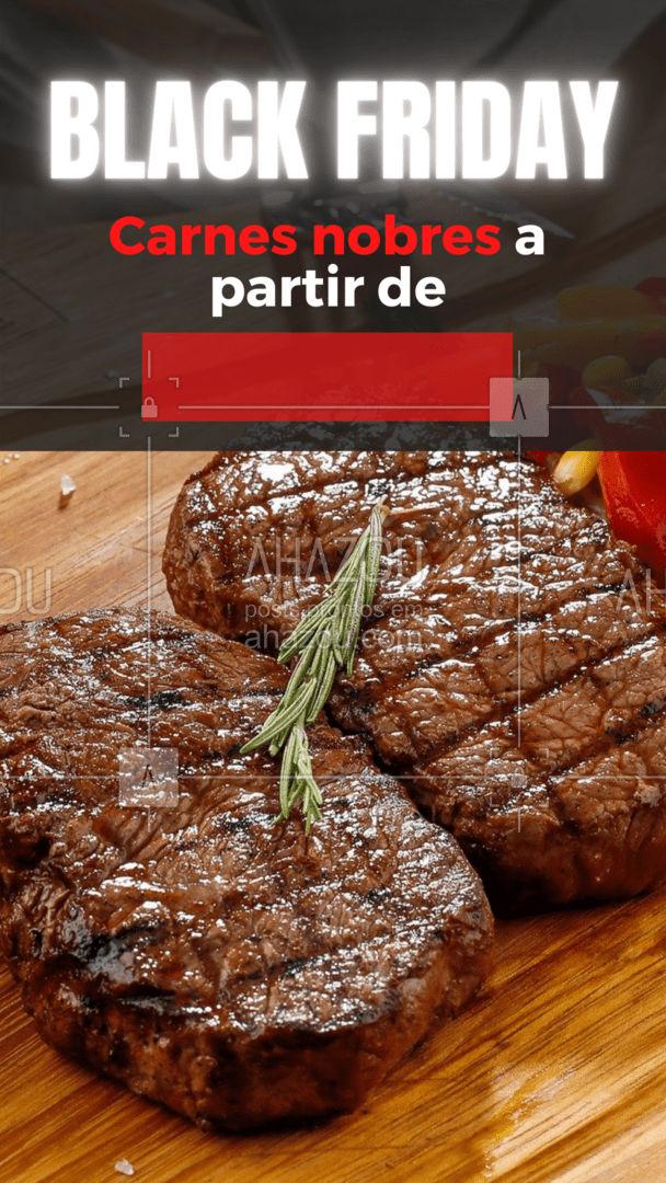As melhores carnes para você fazer aquele churrasco de respeito no final de semana, você encontra aqui! E o melhor: EM PROMOÇÃO! ? Venha aproveitar os preços especiais da Black Friday!   #açougue #churrasco #CarnesNobres #BlackFriday #promoção #ahazoutaste  #churrascoterapia #barbecue
