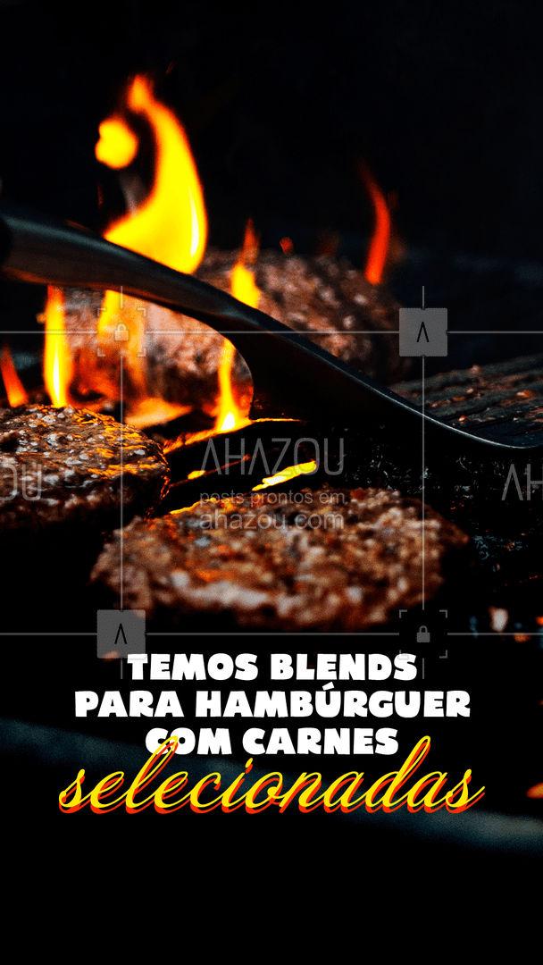 A carne faz toda diferença no seu lanche, por isso escolha sempre as peças certas, aqui você pode contar com a nossa ajuda na escolha e preparação do blend perfeito para o seu hambúrguer ? ?#ahazoutaste  #churrasco #bbq #açougue #barbecue #churrascoterapia #meatlover #hamburguer #artesanal #carne #carneblend #blends #qualidade #selecionadas #sabor #lanche