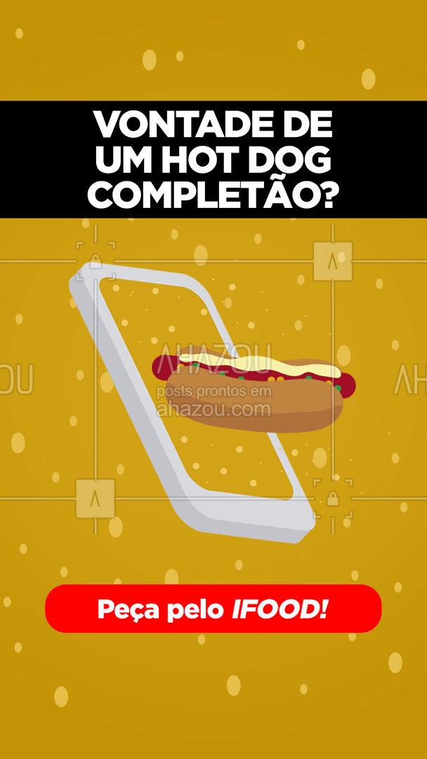 Chegamos no ifood! É só pedir no app!??  #ahazoutaste #hotdog #dogao #fastfood #delivery #ifood  #food #hotdoglovers #cachorroquente
