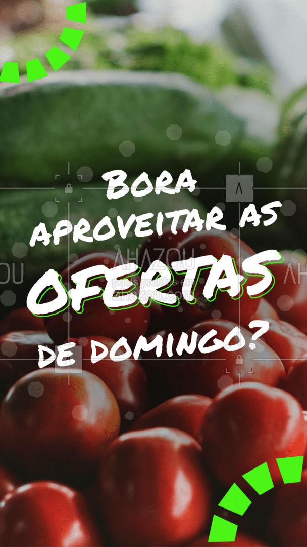Aproveite o domingão para garantir frutas???? e legumes???? fresquinhos, com preços maravilhosos! Venha conferir! #hortifruti #qualidade #vidasaudavel #ahazoutaste #mercearia #frutas #organic #alimentacaosaudavel #feirão #oferta #promoçao