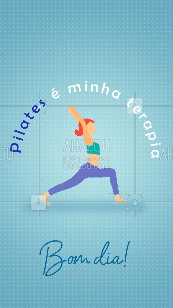 Os meus dias são melhores quando eu começo e termino eles com pilates! ??♀#AhazouSaude #pilates #terapia #saude #bomdia #pilatesbody #pilateslovers #AhazouSaude
