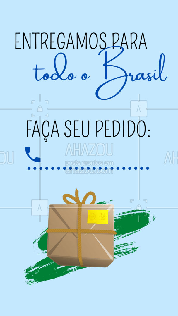 Ei, amada! Estamos entregando para todo Brasil! Então mesmo que você esteja um pouquinho longe da gente, te entregamos um pacotinho de amor e beleza com o maior carinho! #AhazouFashion  #fashion #moda #OOTD  #lookdodia #style