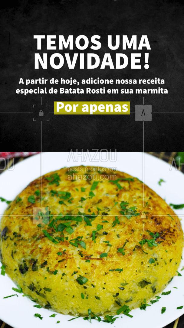 Aproveite essa delícia e dê um novo sabor ao prato do dia! #ahazoutaste #marmitex #marmitando #comidacaseira #comidadeverdade #marmitas #ahazoutaste