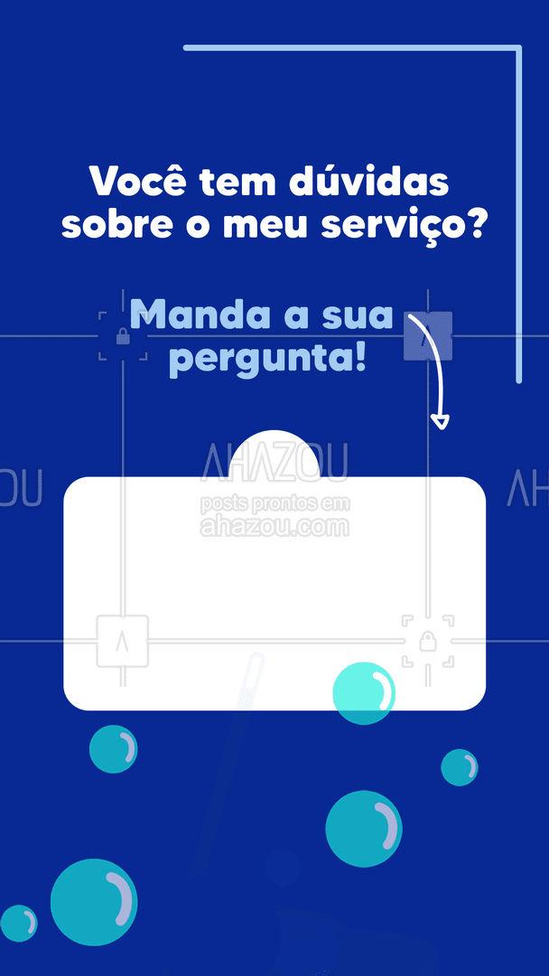 Tô esperando as suas perguntas!?   #AhazouServiços  #caixinhadeperguntas #tiresuasduvidas #perguntaserespostas #duvidas
