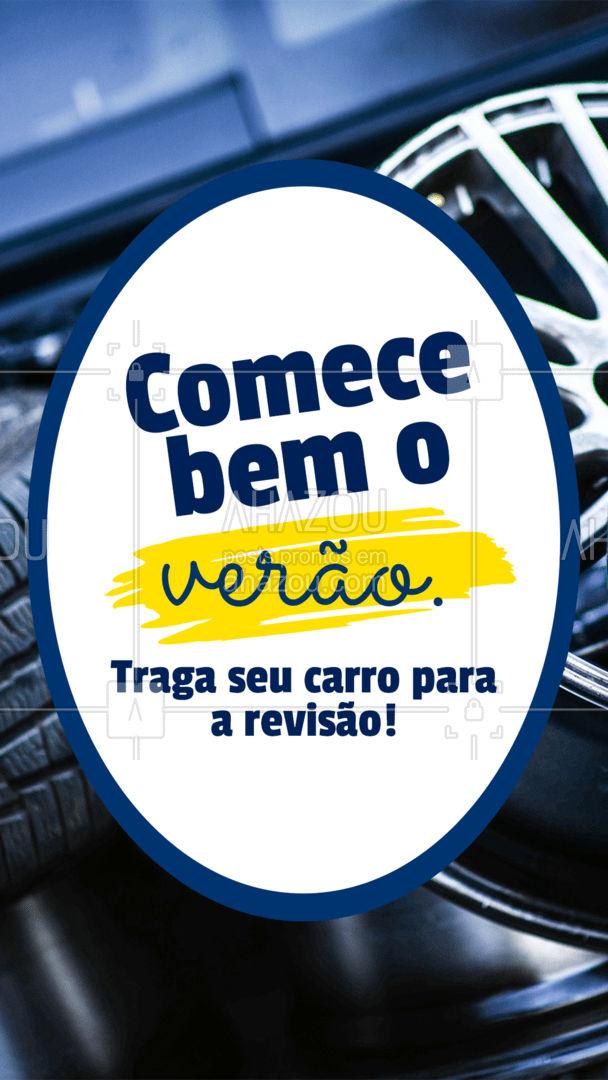 Para começar bem o verão e aproveita-lo muito seu carro precisa estrar funcionando de maneira segura! Traga seu veículo para uma revisão agende o seu horário ?☀?. #esteticaautomotiva #eletricaautomotiva #mecanicaautomotiva #carros #AhazouAuto #automotivo #lavajato #automotiva #mecanica