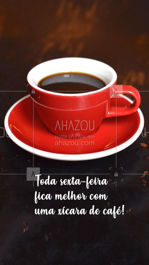 Relaxe seu o dia com uma xícara de café! ?☕ #ahazoutaste #café #coffee #coffeelife