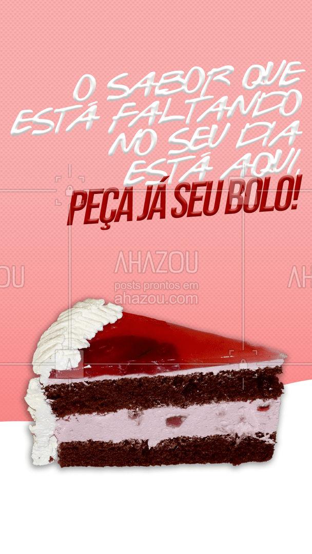 Peça já seu bolo e sinta toda felicidade e sabor a cada mordida. 🍰 #ahazoutaste #padaria #confeitaria #padariaartesanal #bakery #bolos #bolosdeliciosos