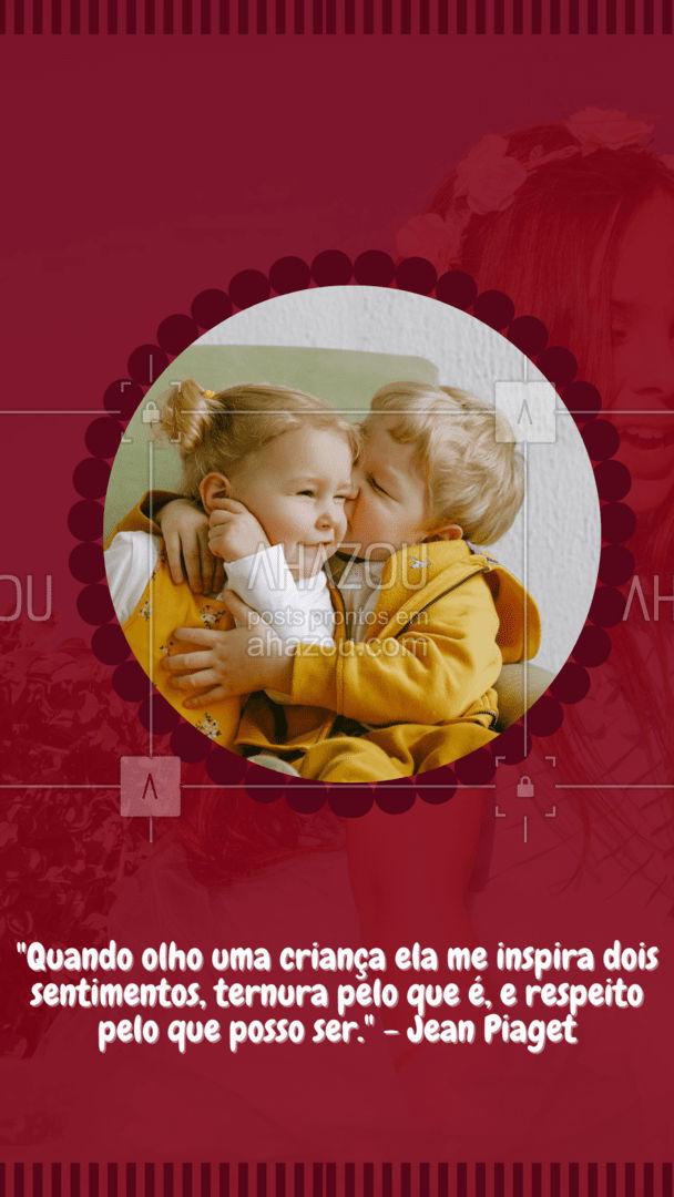 Não pare de sonhar e ver o mundo com bons olhos, porque você deixou de ser criança. Sua criança interior nunca irá sair de você se você não permitir! #frasemotivacional #postdefrase #AhazouSaude #mentalhealth #viverbem #headspace #saudemental #psicologia #psicologo