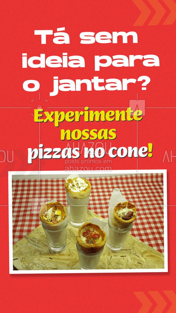Uma releitura deliciosa e divertida da sua receita favorita!  #ahazoutaste  #pizzaria #pizza #pizzalife #pizzalovers
