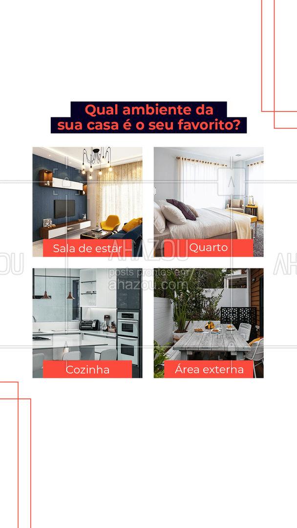 E aí, conta pra gente! ??? #casa #lar #ambientes #AhazouServiços #serviços #serviçospracasa