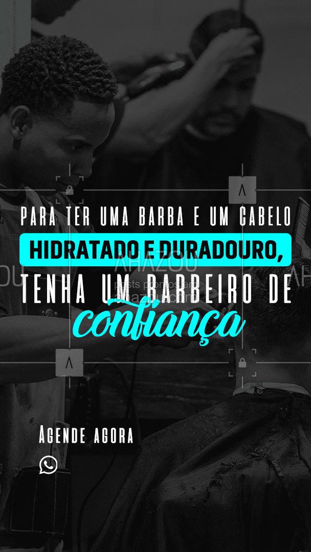 Receita milagrosa? Isso não existe! Tenha um barbeiro de confiança! #AhazouBeauty #barbearia #barberLife #cuidadoscomabarba #barbeiro