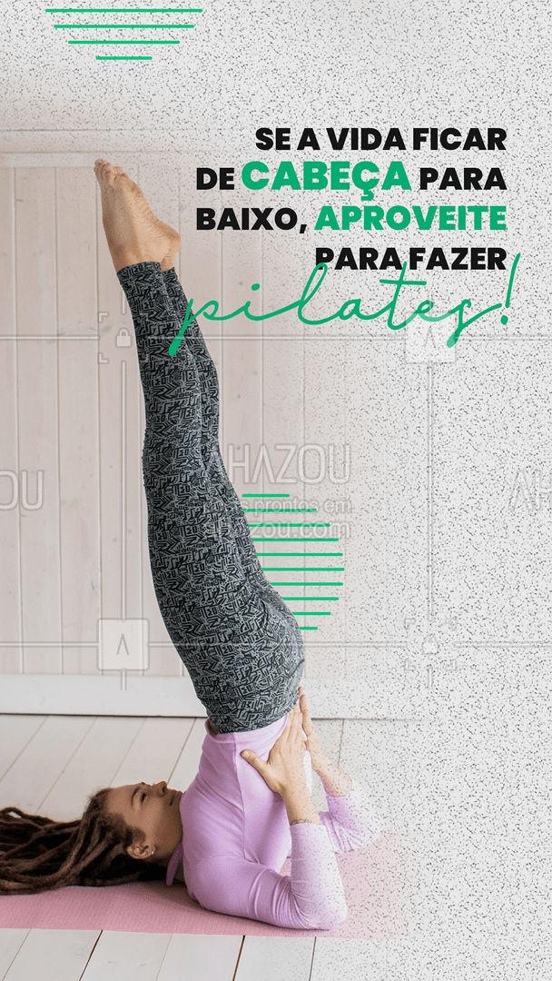 Marque alguém especial para saber que não tem dia complicado que não possa melhorar com uma sessão de pilates! #pilatesbody #pilates #fitness #AhazouSaude #workout #postura #pilateslovers #marquealguem #marqueumamigo